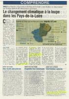 Agri 72 – Novembre 2015 – Les chamgements climatiques des Pays de la Loire