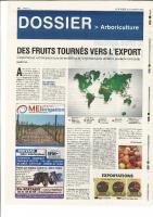 agri 72  Février 2016 – Des fruits tournés vers l'export
